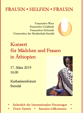 Benefizkonzert Flyer